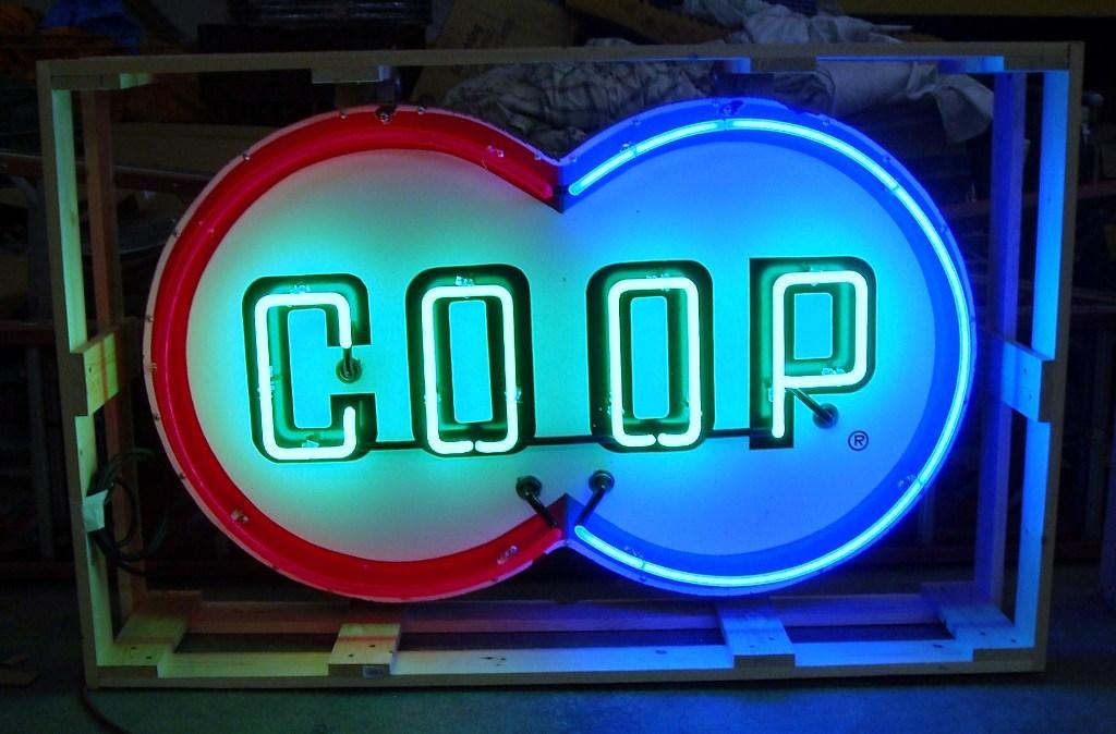 Coop Neon Sign