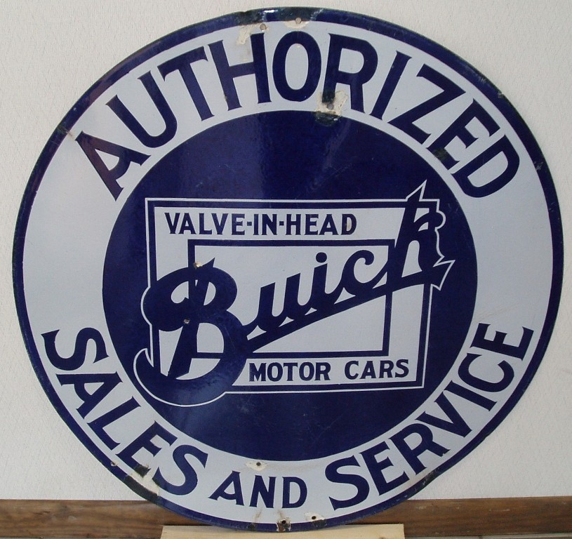 Buick 36 sign
